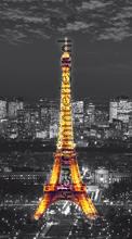 Eiffel Tower lighted curtains Kleurmijninterieur cities