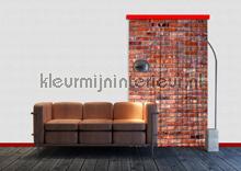 Bakstenen muur cortinas Kleurmijninterieur nuevas colecciones