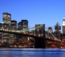 Brooklyn bridge curtains Kleurmijninterieur teenager