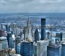 Skyskrapers curtains Kleurmijninterieur cities