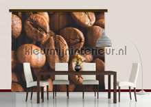 Big coffee beans curtains Kleurmijninterieur kitchen