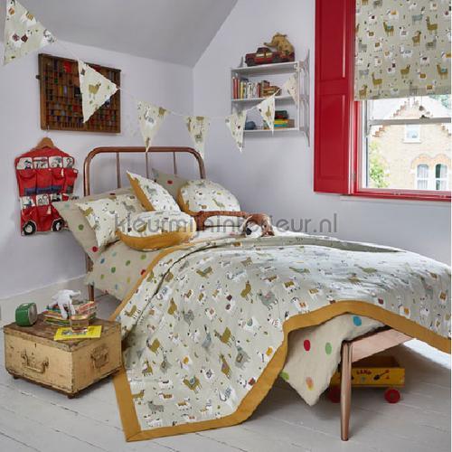 Alpaca canvas curtains 5069-142 animals Prestigious Textiles