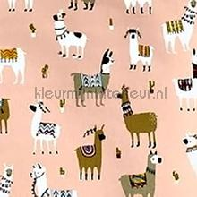 Alpaca bon bon curtains Prestigious Textiles animals