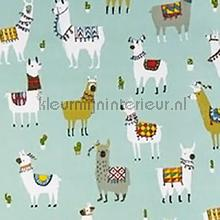 Alpaca azure curtains Prestigious Textiles animals
