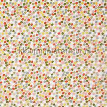 Dot to dot coral tendaggio Prestigious Textiles tinte unite