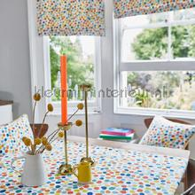 Dot to dot azure curtains Prestigious Textiles teenager
