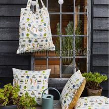 Pot plants greenhouse gordijnen Prestigious Textiles retro