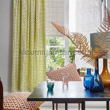 Zap lime gordijnen Prestigious Textiles retro