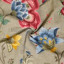 Floral fantasy gordijn bruingrijs cortinas Eijffinger campo