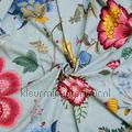 Floral fantasy gordijn turquoise stijlen