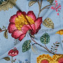Floral fantasy gordijn lichtblauw gordijnen Eijffinger romantisch