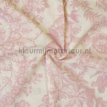 Bos Roze curtains Eijffinger countryside