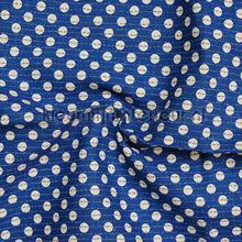 Stippen Donker Blauw cortinas Eijffinger campo