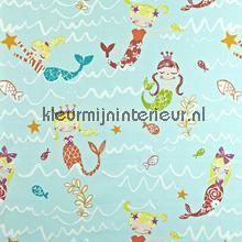 Mermaid Aqua gordijnen Prestigious Textiles Baby Peuter