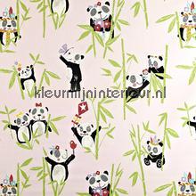 Panda Pretty Pink gordijnen Prestigious Textiles Baby Peuter