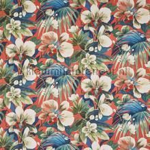 Moorea coral reef gurdainstof Prestigious Textiles strepe