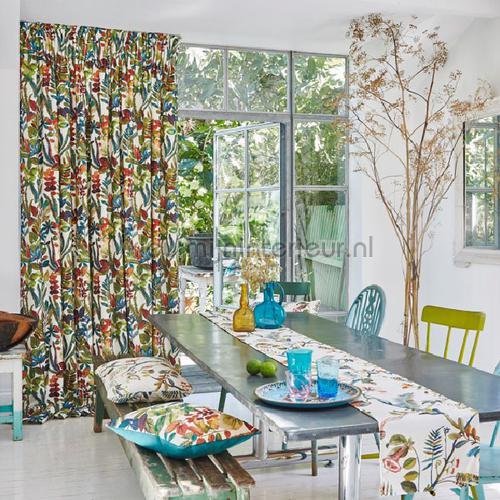 Tonga Waterfall cortinas 8651-010 romántico Prestigious Textiles