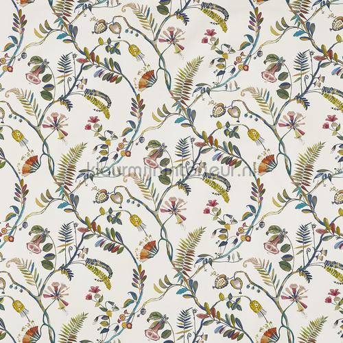 Tropicana waterfall cortinas 8652-010 romántico Prestigious Textiles
