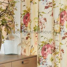 rideau fleurs