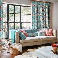 Abbotsbury tigerlilly vorhang Prestigious Textiles romantisch