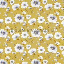 Abbotsbury saffron vorhang Prestigious Textiles romantisch