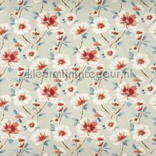Abbotsbury sapphire gurdainstof Prestigious Textiles strepe