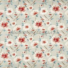 Abbotsbury sapphire curtains Prestigious Textiles stripes