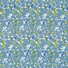 Trebah canopy cortinas Prestigious Textiles todas as imagens