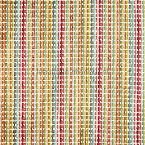 Milnthorpe Apricot gordijnen 5013-401 strepen Prestigious Textiles