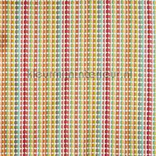 Milnthorpe Apricot cortinas Prestigious Textiles cuadros y rombos