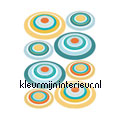 Orbit wallstickers Komar vindue stickers