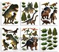 Dinosaurus adesivi murali Walltastic sport