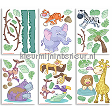 Baby Jungle interieurstickers Walltastic Baby Peuter