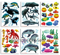Onderwater decoration stickers Walltastic underwater world