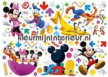 Mickey clubhouse interieurstickers Decofun Baby Peuter