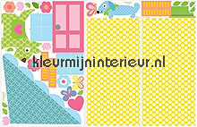Doll house interieurstickers York Wallcoverings Baby Peuter