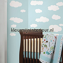 White Clouds decoration stickers RoomMates nature