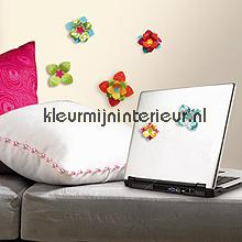 3D bloemenstickers tapet RoomMates ACC0002F3D