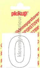 Cijfer 0 Helvetica decorative selbstkleber Pick-up alle bilder