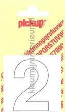 Cijfer 2 Helvetica decorative selbstkleber Pick-up alle bilder