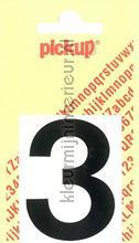 Cijfer 3 Helvetica decorative selbstkleber Pick-up alle bilder