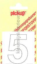 Cijfer 5 Helvetica decorative selbstkleber Pick-up alle bilder