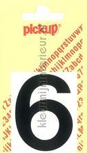 Cijfer 6 Helvetica decorative selbstkleber Pick-up alle bilder