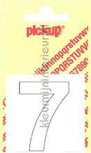 Cijfer 7 Helvetica decorative selbstkleber Pick-up alle bilder
