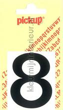 Cijfer 8 Helvetica decoration stickers Pick-up all images