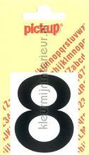 Cijfer 8 Helvetica decorative selbstkleber Pick-up alle bilder