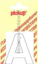 Letter A Helvetica decoration stickers Pick-up all images