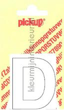 Letter D Helvetica decorative selbstkleber Pick-up alle bilder