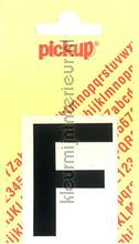 Letter F Helvetica decoration stickers Pick-up all images