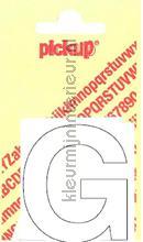Letter G Helvetica decorative selbstkleber Pick-up alle bilder